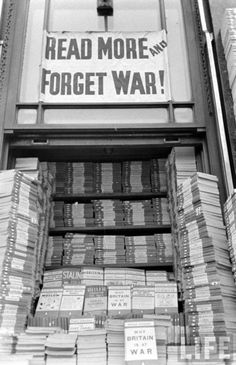 read more and forget war